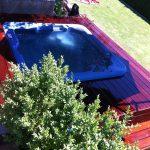Tour de piscine extérieur